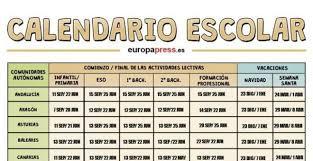 calendario escolar argentina 2017 2018 calendario escolar empieza la vuelta al cole 2017 2018 y éste