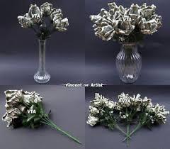 money flowers beautiful money origami roses flowers made of real dollar bills