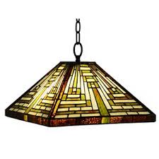 Stained Glass Light Fixtures Stained Glass Lamp Shades Only Wayfair