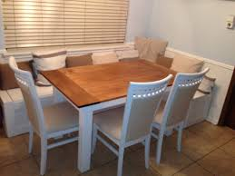 ana white breakfast nook benches with table diy projects