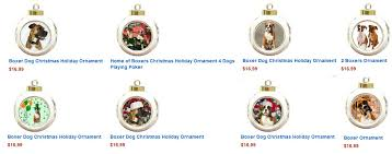 boxers dogbreed gifts boxer cards ornaments