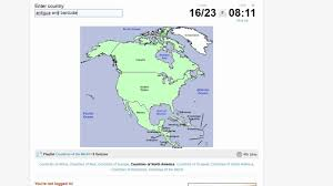 Map Quiz South America by Quiz Countries Of North America Youtube