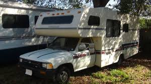 1992 toyota winnabago warrior motorhome youtube