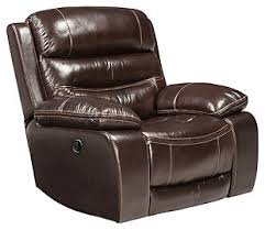 Grey Leather Recliner Recliners Furniture Homestore
