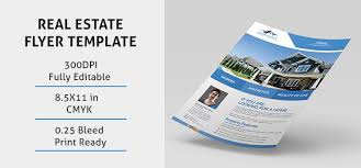 real estate brochure templates psd free estate flyer psd