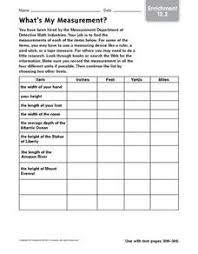inches feet yards miles lesson plans u0026 worksheets