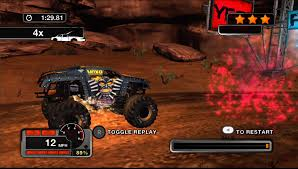 monster trucks jam games monster jam battlegrounds review xbox 360 xblafans