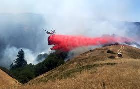 Fires Near Denver Map by Marin County Brush Fire Burns Near Kent Lake Cbs San Francisco