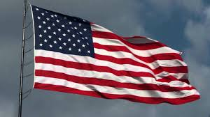 Americain Flag American Flag Waving Free Hd Stock Footage With National Anthem