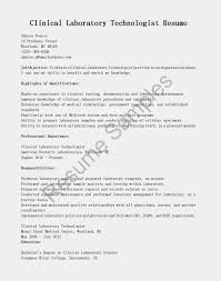Resume Sample Lab Technician by Resume Objective Examples Lab Technician