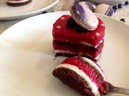 blackcurrant u0026 white chocolate mousse entremets u2013 baking fanatic