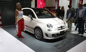 Fiat 500 Abarth White Fiat Brings A Pair Of Angry Abarths To Frankfurt News Car And