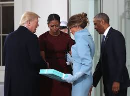 Michelle Obama Meme - michelle obama responds to melania trump gift meme popsugar news