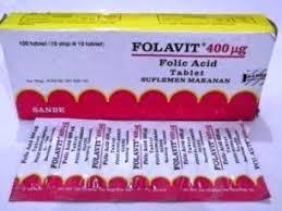 Obat Folac harga suplemen asam folat folavit suplemen penting untuk ibu