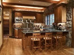 cuisines rustiques bois des idées de cuisine rustique moderne bricobistro