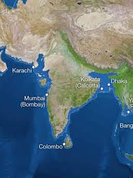 Calcutta India Map by Map Of India If All The Ice Melts O Forum