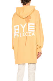 baja east bye felicia french terry hoodie in camel fwrd