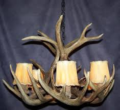 How To Make Deer Antler Chandelier White Tail Antler Chandeliers Cdn Antler Custom Antler