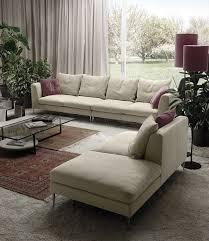 Purple Corner Sofas Modular Sofa Corner Contemporary Leather Diadema Polaris