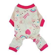 fitwarm soft cotton sweet sheep pet clothes pajamas
