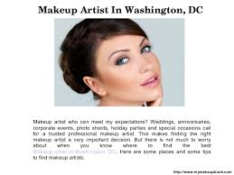 find makeup artists how to find the right makeup artist in washington
