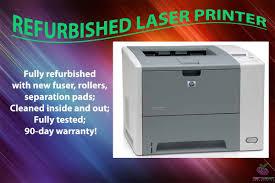 hp laserjet p3005 refurbished laser printer q7812a w 90 day warranty