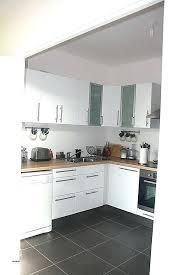 cuisine design blanche cuisine noir et blanche blanc laqu cool affordable ikea meuble