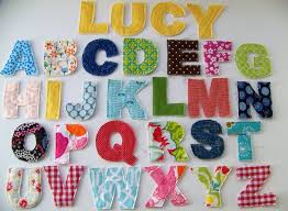 fabric letter templates best 25 applique letters ideas only on