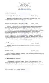 Sample General Labor Resume by General Labor Resume Samples Free