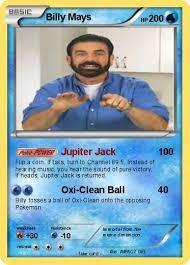 Billy Mays Meme - pok礬mon billy mays 155 155 jupiter jack my pokemon card
