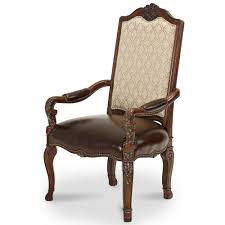 Aico Chairs Buy The Aico Victoria Palace Fabric Back Arm Chair With Leather