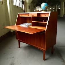 Secretary Desk With Storage by Exclusive Danish Modern Secretary Desk Thediapercake Home Trend
