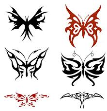 free tribal butterfly pics free clip free clip