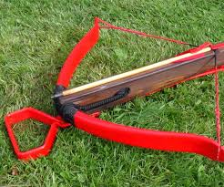 make a 100 pound medieval style pvc crossbow and bolts 7 steps