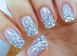 nail art diamond how you can do it at home pictures designs