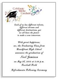 what to write on a graduation announcement commencement invitation wording graduation invitation exles