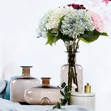 Vase Home Decor Online Get Cheap Brown Glass Vases Aliexpress Com Alibaba Group
