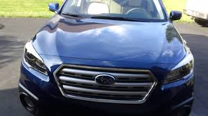 subaru dark blue 2015 lapis blue pearl subaru outback youtube