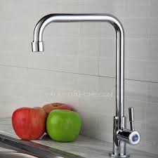 kitchen water faucet modern cheap cold water only kitchen sink faucet