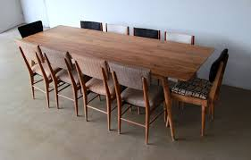 dining room mid century modern refractory dining table with mid
