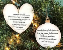 christian ornaments etsy