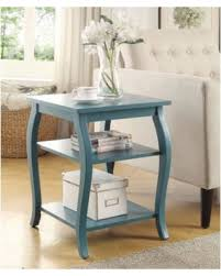 Teal Table L Here S A Great Deal On Becci End Table Teal