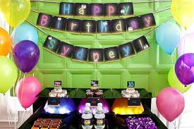 glow in the party decorations glow in the collection diy printable neon birthday