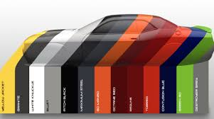 2017 Color Palette by Dodge Debuts Heritage Inspired 2017 Color Palette News Gallery