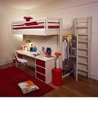 lit mezzanine 1 place bureau integre petits espaces domozoom com