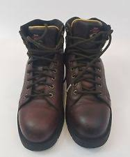 s lace up boots size 11 lace up chemical resistant leather work boots size 11 5 in h