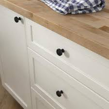 white kitchen cabinets black knobs black cabinet knobs cabinet hardware the home depot