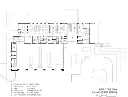 Fire Station Floor Plans Millwood Fire Station U2014 Ohlhausen Dubois Architects