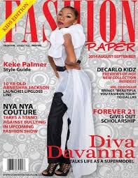 diva davanna for fashion paper 2014 august issue by fashion paper