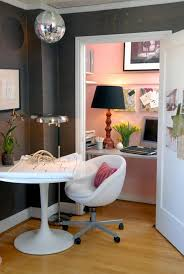 Girly Home Decor Efficient And Stylish Small Home Offices